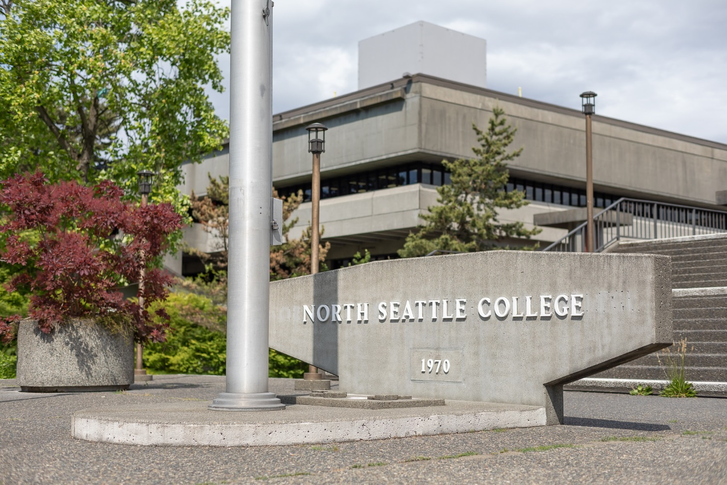 North Seattle College sign