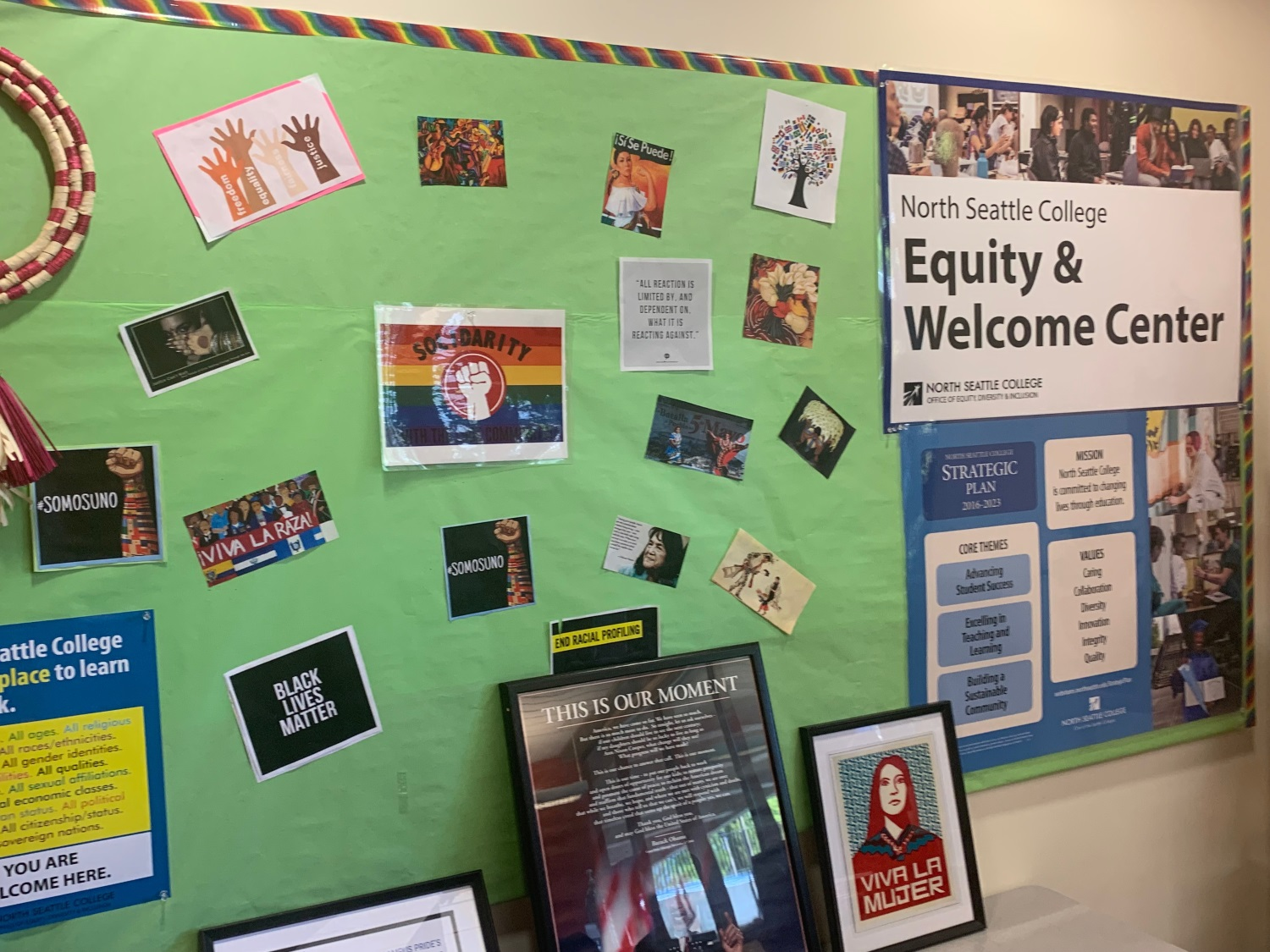 Equity and welcome center