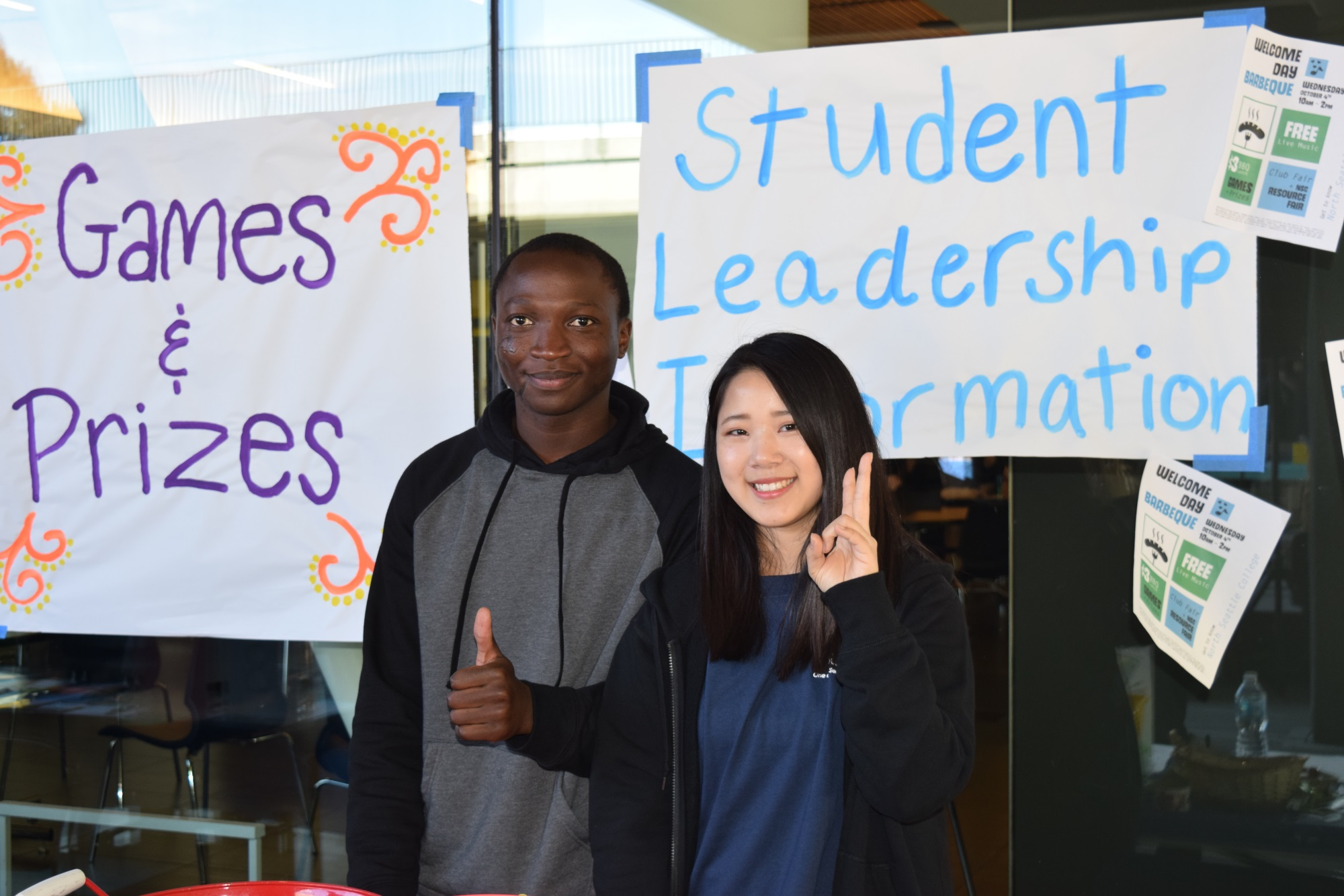 fall fest welcome, student leadership