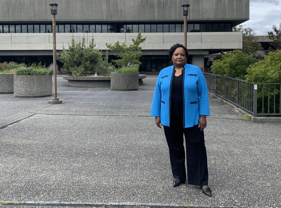 Dr. Crawford; North Seattle College President