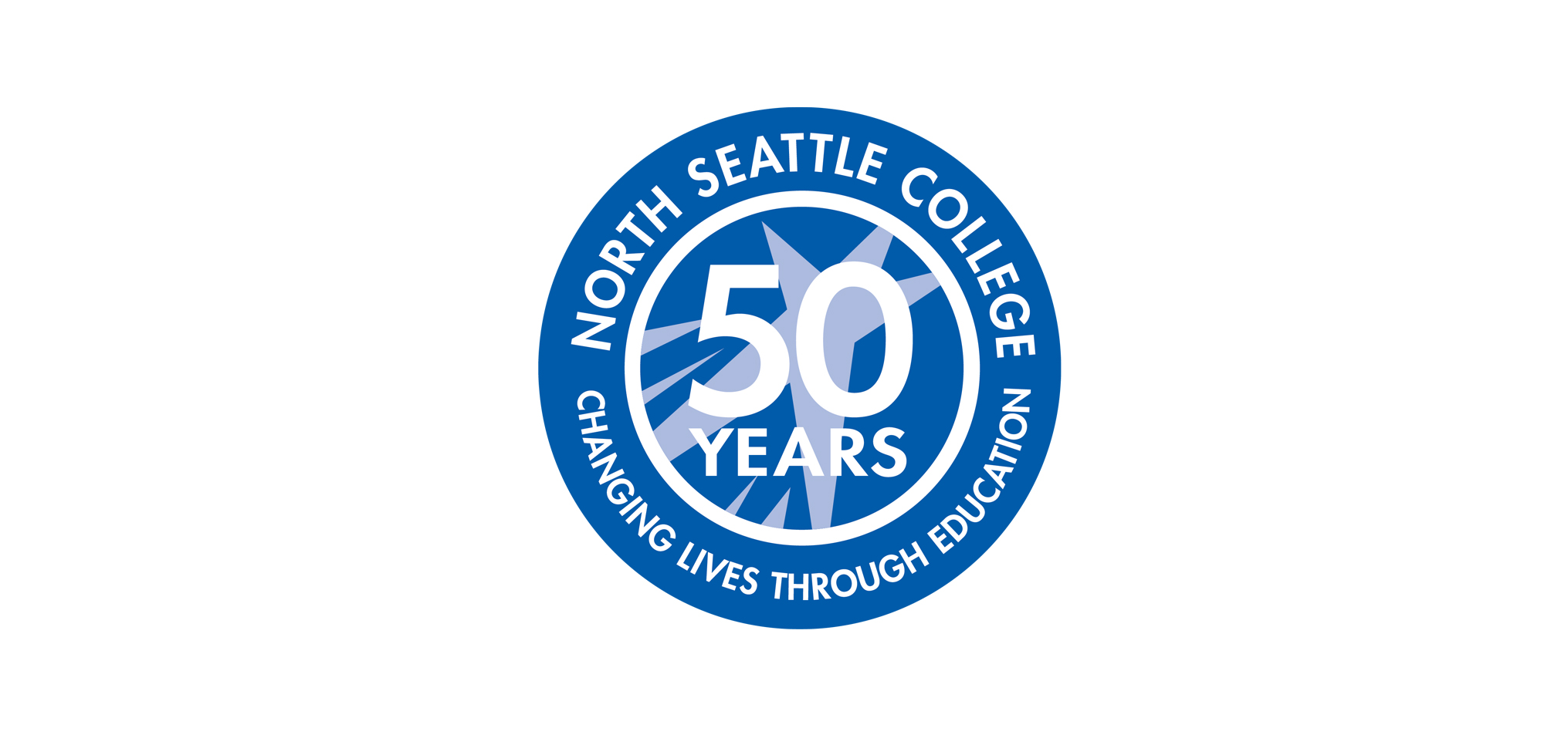50th Anniversary Changing Lives Through Education logo